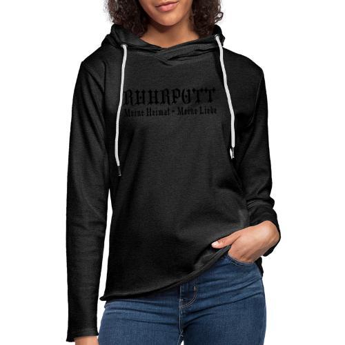 Ruhrpott - Meine Heimat, meine Liebe - T-Shirt klassisch - Leichtes Kapuzensweatshirt Unisex