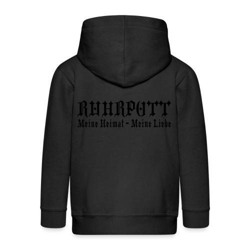 Ruhrpott - Meine Heimat, meine Liebe - T-Shirt klassisch - Kinder Premium Kapuzenjacke