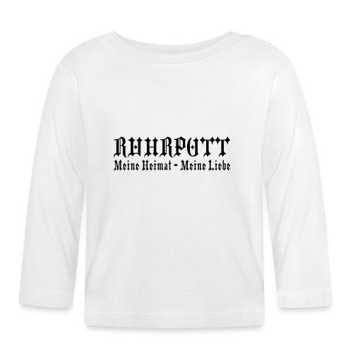 Ruhrpott - Meine Heimat, meine Liebe - T-Shirt klassisch - Baby Langarmshirt