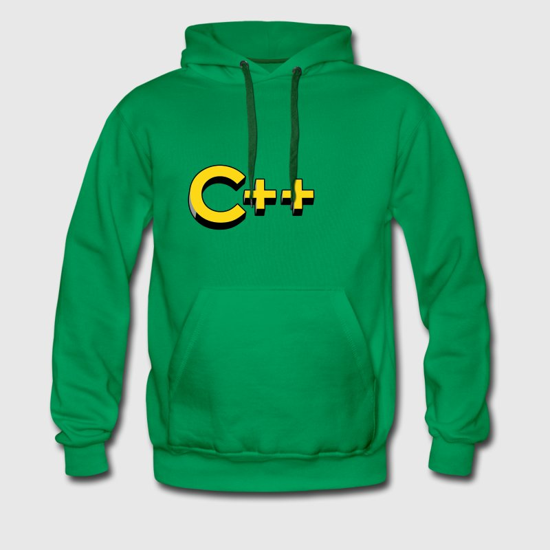 Programming Languages: C++ / C plus plus Hoodies & - Men's Premium Hoodie