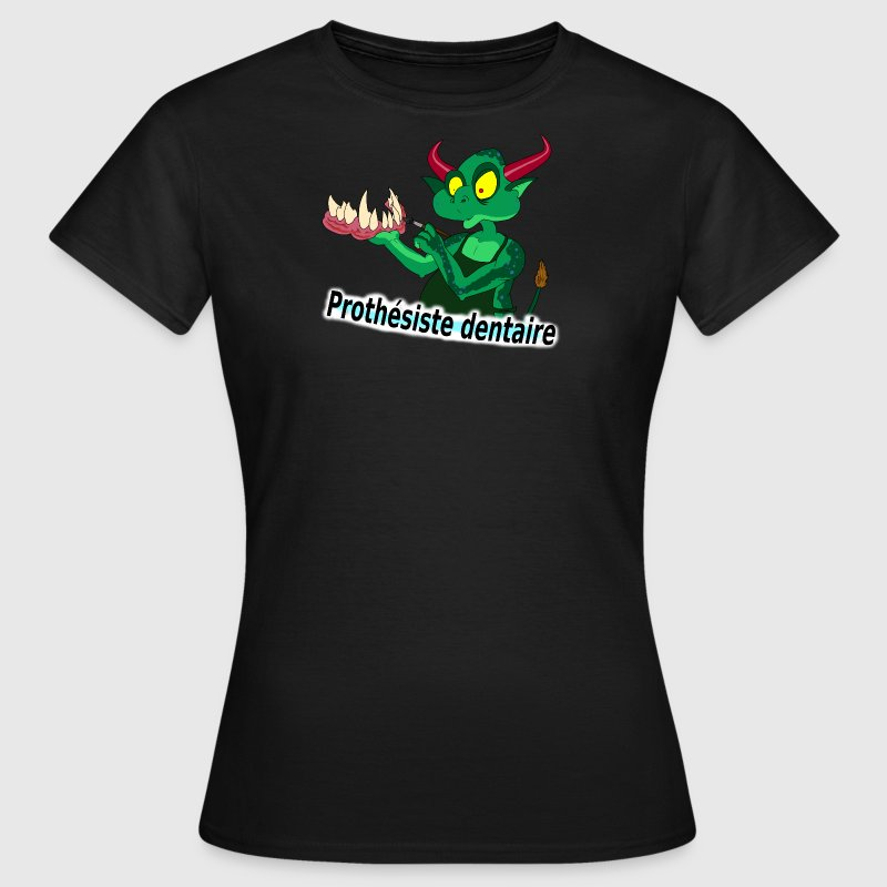 prothesiste_dentaire Tee shirts - T-shirt Femme