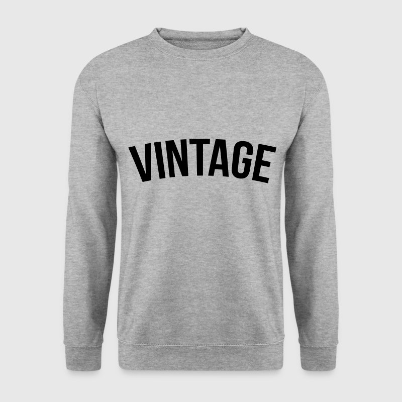 vintage old school  Sweat-shirts - Sweat-shirt Homme
