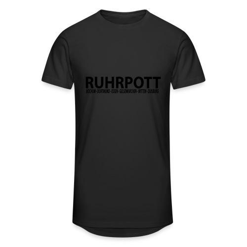Ruhrpott - Das Revier - Männer Kapuzenpullover - Männer Urban Longshirt