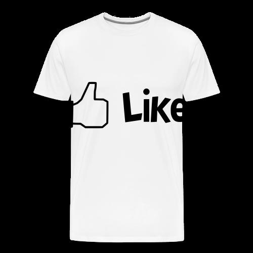 Like - Männer Premium T-Shirt