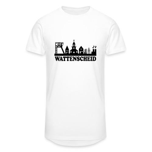 Wattenscheider Skyline (schmal) - Kapuzenpulli - Männer Urban Longshirt