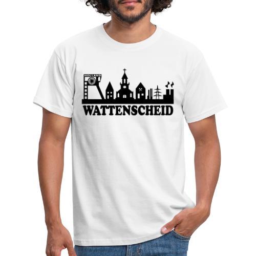 Wattenscheider Skyline (schmal) - Kapuzenpulli - Männer T-Shirt