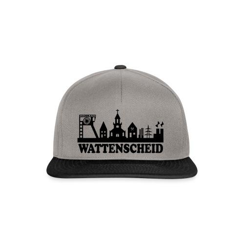Wattenscheider Skyline (schmal) - Kapuzenpulli - Snapback Cap