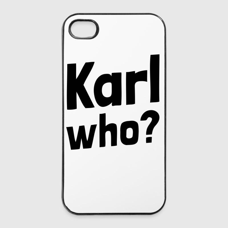 Karl who? (1a) Sonstige - iPhone 4/4s Hard Case