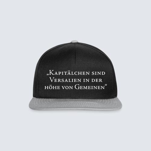 KAPITÄLCHEN - Snapback Cap