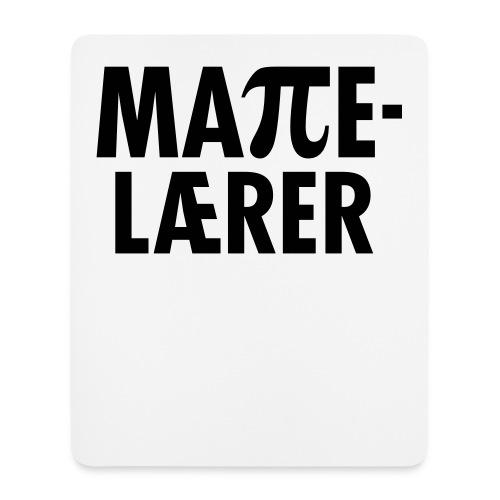 Mattelærer - Musematte (stående format)