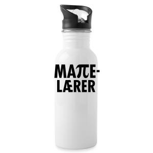 Mattelærer - Drikkeflaske