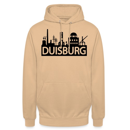 Skyline Dusiburg - Frauen Kapuzenpullover - Unisex Hoodie