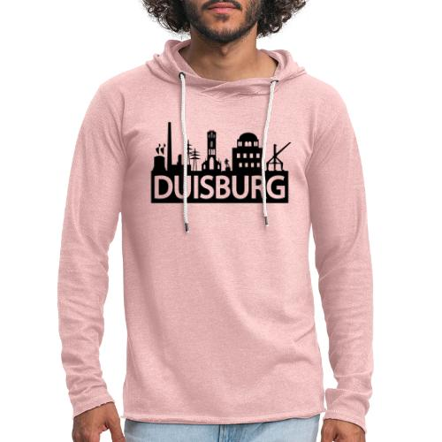 Skyline Dusiburg - Frauen Kapuzenpullover - Leichtes Kapuzensweatshirt Unisex