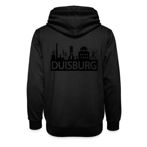 Skyline Dusiburg - Frauen Kapuzenpullover - Schalkragen Hoodie