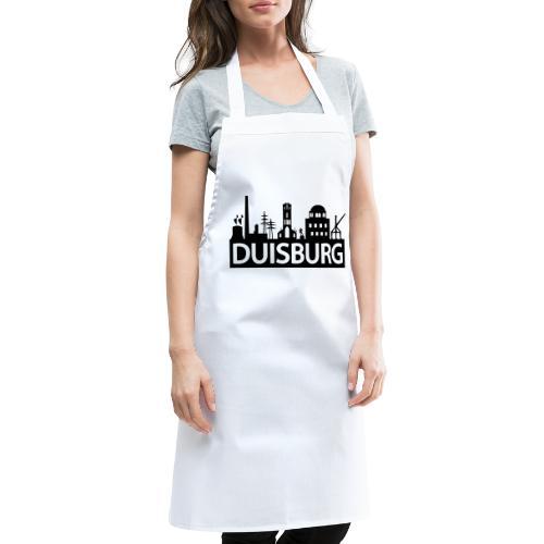 Skyline Dusiburg - Frauen Kapuzenpullover - Kochschürze