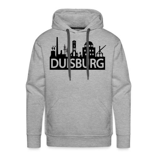 Skyline Dusiburg - Frauen Kapuzenpullover - Männer Premium Hoodie