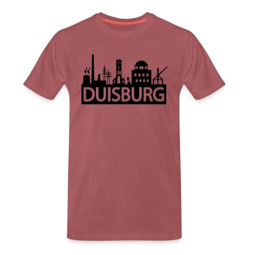 Skyline Dusiburg - Frauen Kapuzenpullover - Männer Premium T-Shirt