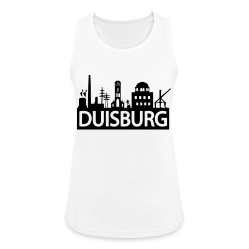 Skyline Dusiburg - Frauen Kapuzenpullover - Frauen Tank Top atmungsaktiv