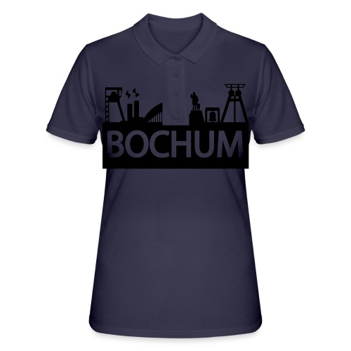 Bochumer Skyline - Pullover - Frauen Polo Shirt