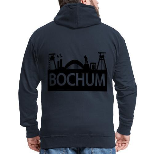 Bochumer Skyline - Pullover - Männer Premium Kapuzenjacke