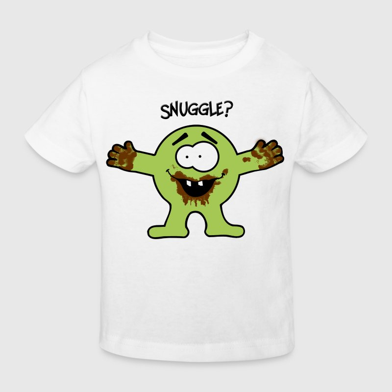 snuggle chocolate monster Shirts - Kids' Organic T-shirt