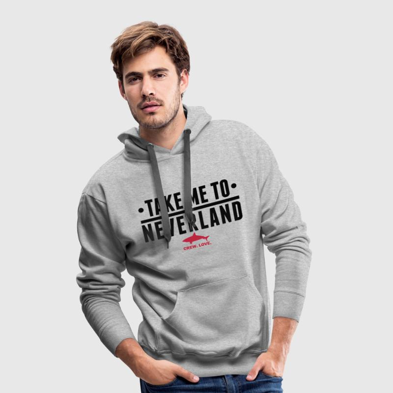 Take me to Neverland Pullover & Hoodies - Männer Premium Hoodie