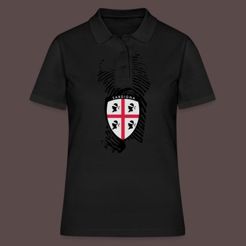 Sardigna 4 mori patch - Women's Polo Shirt