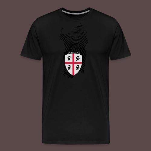 Sardigna 4 mori patch - Maglietta Premium da uomo