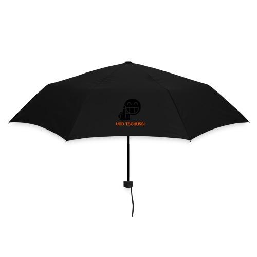 Und Tschüss! BlackShirt - Regenschirm (klein)