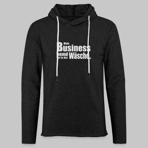 Business Hemd - Leichtes Kapuzensweatshirt Unisex