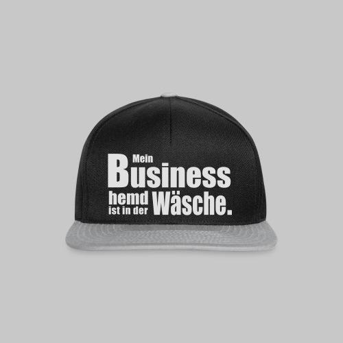 Business Hemd - Snapback Cap