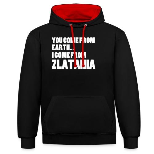 ZLATANIA / Colors - Sweat-shirt contraste