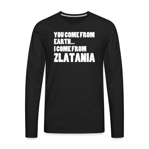 ZLATANIA / Colors - T-shirt manches longues Premium Homme
