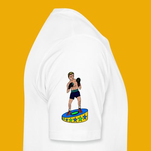 drinkfles met een stoere bokser - Mannen Premium T-shirt