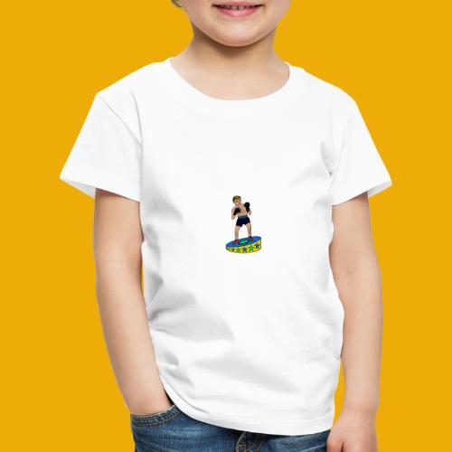 drinkfles met een stoere bokser - Kinderen Premium T-shirt