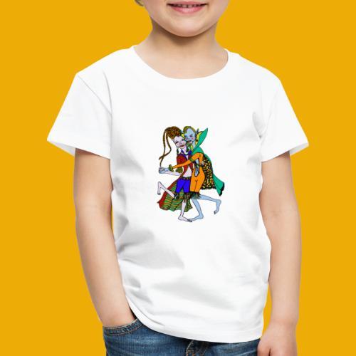 beer met een elfen - Kinderen Premium T-shirt