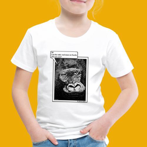 beer met een gorilla - Kinderen Premium T-shirt