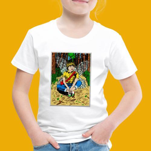 beer met een boself - Kinderen Premium T-shirt