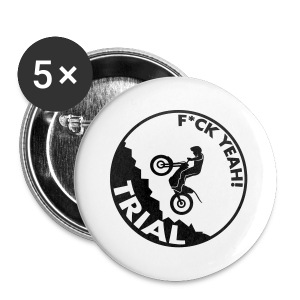 F*ck Yeah Trial - Buttons klein 25 mm