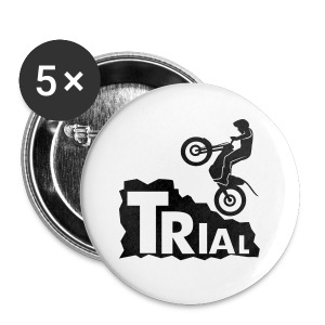 Trial Rock - Buttons klein 25 mm