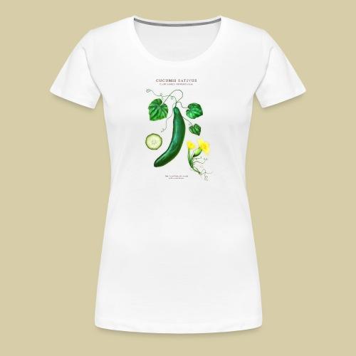 BBQ THE PLANTSPLATE FARM - Cucumis Sativus - Frauen Premium T-Shirt