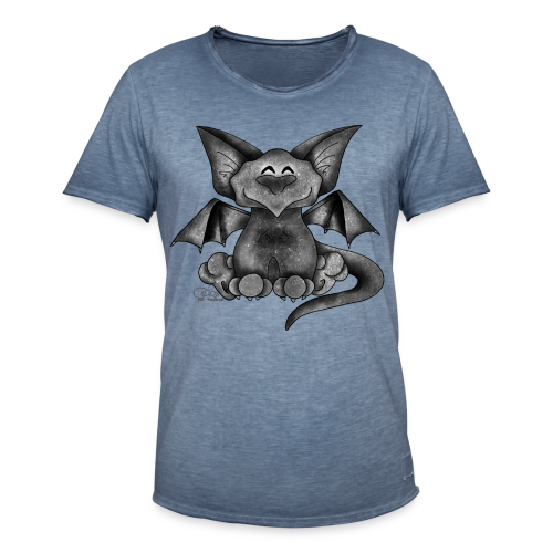 KinderShirt Gargoyle - Männer Vintage T-Shirt