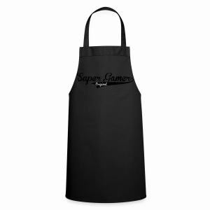 Super Gamer (White) - Cooking Apron