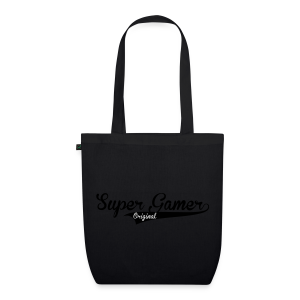 Super Gamer (White) - EarthPositive Tote Bag