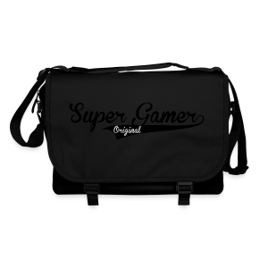 Super Gamer (White) - Shoulder Bag