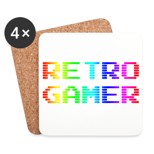Retro Gamer - Coasters (set of 4)