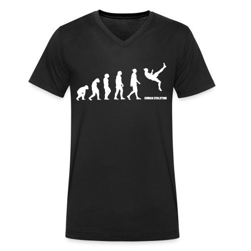 Zlatan Evolution / Colors - T-shirt bio col V Stanley & Stella Homme