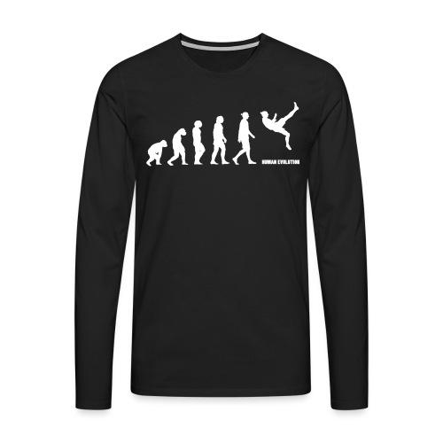 Zlatan Evolution / Colors - T-shirt manches longues Premium Homme