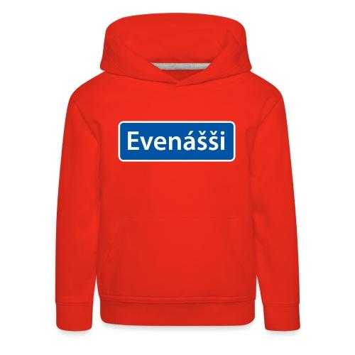 Evenášši (Evenes) skilt - Premium Barne-hettegenser