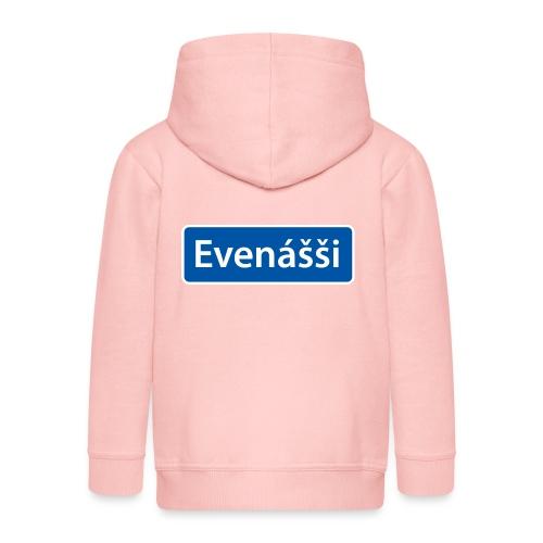 Evenášši (Evenes) skilt - Premium Barne-hettejakke